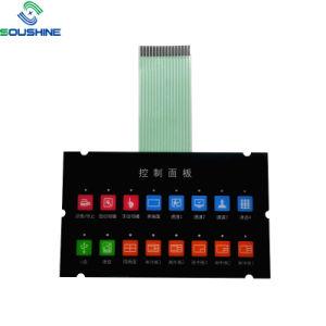 Custom 12 de la tecla 4 X 3 Interruptor de membrana teclado Teclado de matriz de 4X3 para el Kit de bricolaje