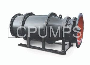 浸水許容の管状タイプ軸琉ポンプ