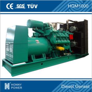 Generatore del diesel del contenitore 1.5MW del cilindro di Googol 12V