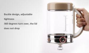 健康の鍋、1.5L厚化ガラス、多機能のガラス電気やかん