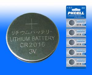 batteria delle cellule del tasto del litio 3V con capacità elevata (serie del CR)
