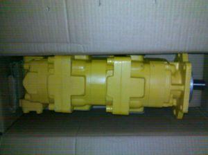 Komatsu Triple pompe hydraulique à engrenages (705-58-34000)