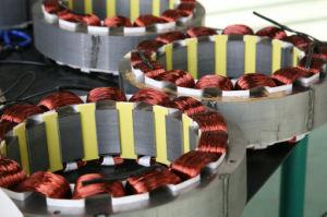 Copia de Stamford Trifásico Industrial AC alternador síncrono sin escobillas (JDG Serie 8-1250kVA)
