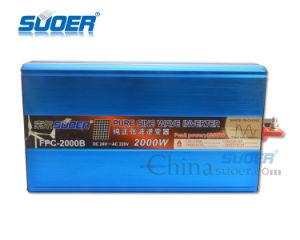 Suoer 2000W 24V CC a 220V AC fuera de la red Onda senoidal pura inversor (FPC-2000B)