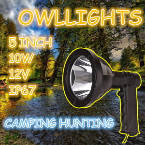 10W 5 Inch Superior Handy Salable 10W LED Spotlight LED Torch Light Tool Emergency Camping 10W LED Handhel