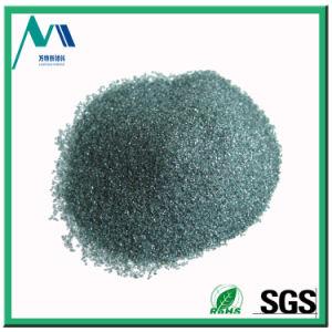 Material abrasivo de carburo de silicio negro y verde