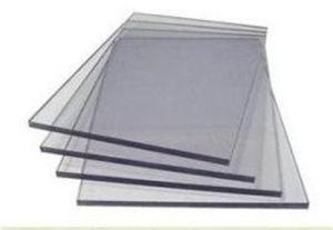 Haute définition antistatique transparent en PVC en plastique rigide feuille transparente