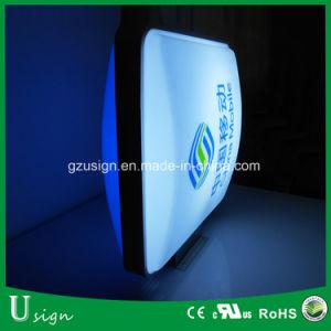 hecho personalizado dobles caras la publicidad Caja de luz LED para exteriores