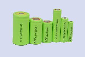 Batterijen -1000mAh van de AMERIKAANSE CLUB VAN AUTOMOBILISTEN 300mAh van de Batterij van NiMH 1.2V de Navulbare Droge