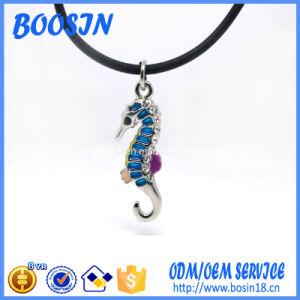Collana del Seahorse di modo con la catena di gomma per il commercio all'ingrosso