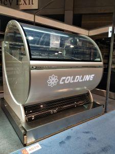 Congelatore di vetro verticale basso della visualizzazione del frigorifero del gelato del portello di Noice