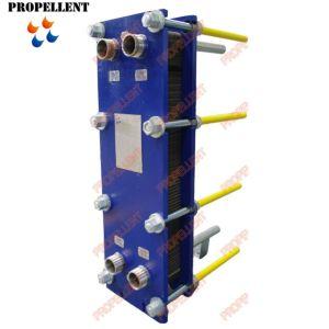 水オイルクーラーのためのSS304 SS316Lのステンレス鋼の版の熱交換器M6 M10 M15 M20 T20 Vt04 Vt20 N40