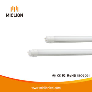 10W T10 LED de luz del tubo de plástico con CE