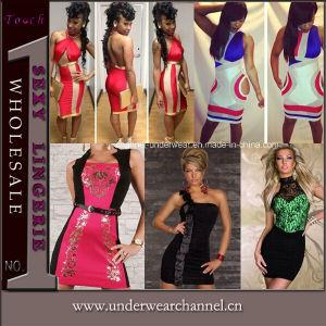 Sexy Fashion Parti de la Prom formelle de cocktail robe de soirée (TP4307)
