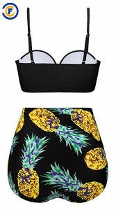 Nuovo Swimwear del costume da bagno del bikini delle donne della stampa di modo di disegno
