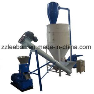 1t/h de grano de maíz combinados vertical trituradora Máquina esmeriladora Mezclador de Alimentación de Aves de Corral