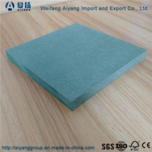 Papier blanc de la Mélamine MDF face vert la preuve d'humidité