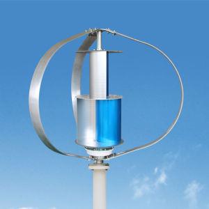 500W 24V Tubine eólica de eje vertical pequeño generador de energía eólica