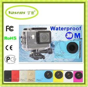 Câmera de esporte subaquática de 30 m de capa impermeável