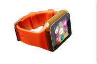 2015 la fábrica de 1,54 pulgadas Android Reloj inteligente con Monitor de ritmo cardíaco, Bluetooth Smartwatch