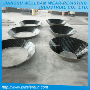 陶磁器の並べられた合成耐久力のある管の耐摩耗加工