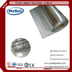 Перед Insulaiton алюминиевую фольгу с тканью