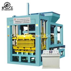 Qt4-15 ser pirolizados el hormigón celular de la India hueco máquina bloquera eléctrico