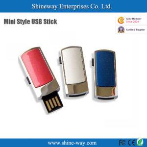 マルチカラー金属小型滑走USBのフラッシュディスク