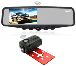 4.3-duim de Universele Rearview Camera van de Auto met de Monitor van de Spiegel
