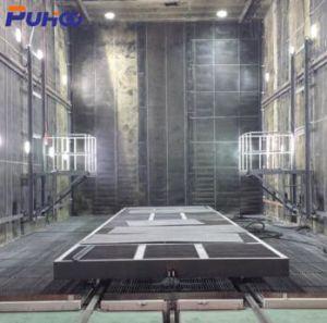 La Chine de sablage automatique Booth / Salle de Sablage / Machine de sablage