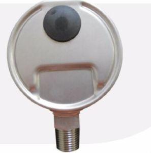 Manometro di Resitance di scossa, olio - manometro riempito, collegamento posteriore