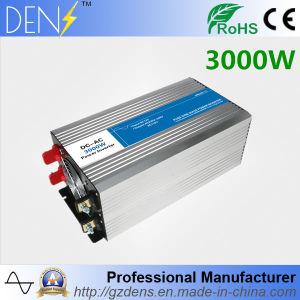 China Fabricante 3000W onda senoidal pura Inversor de Energia Solar