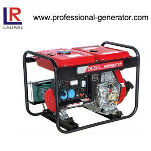 건전지 강화된 AC Single Phase를 가진 5kw Diesel Electric Generator