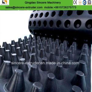 Plastic PE die de de Convexe Raad van de Drainage van de Spijker/Machine van de Uitdrijving van het Blad waterdicht maken