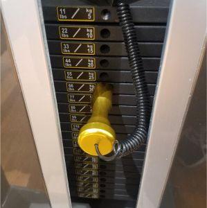 Macchina laterale di aumento della strumentazione di forma fisica di ginnastica della costruzione di corpo di macchina di concentrazione