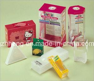 주문 Folding Packaging Plastic Printing Box (PVC 상자)
