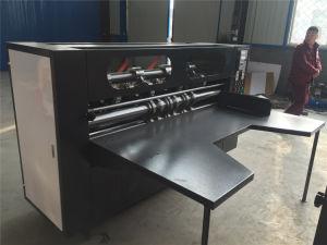 رقيق نصل مقطع شقّ [سكرر] آلة لأنّ يجعل يغضّن ورق مقوّى