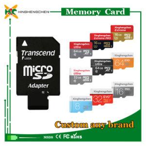 O logotipo personalizado cartão Micro SD de 2 GB para 128 GB do cartão de memória SD por grosso