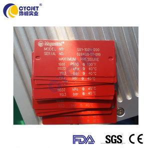 Numéro de machine de marquage au laser du logo fibre voler pour acier inoxydable