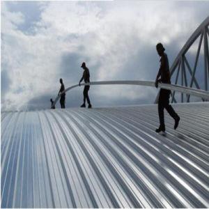 Construction de matériel de décoration de mur extérieur Aluminum-Magnesium alliage Feuille de toit