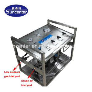 Suncenter Air-Driven Haute Pression pompe de transfert de gaz