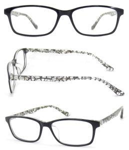 Glazen van de Lezing van de Manier van de Stijl van Korea van het Frame van het Frame Eyewear van de acetaat de Optische Optische Nieuwe met Geval