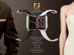 IosおよびAndroid SmartphoneのためのHeart Rate Fitness Trackerの2015新しいWaterproof Bluetooth Smart Watch F2 Smartwatch