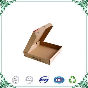 Comercio al por mayor de papel caja de pizza de cartón corrugado para embalaje de alimentos
