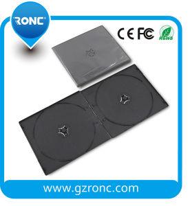 7mm negro PP DVD Box doble CD Caja DVD