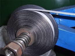 Nastro ondulato della grafite con l'auto Adhesve