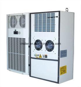 O Condicionador de Ar de arcas congeladoras utilizados no armário de telecomunicações