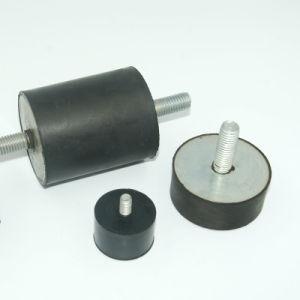 Male-Male OEM Tipo tornillo M6 El aislante de goma de caucho amortiguador de los pies de la electrónica.