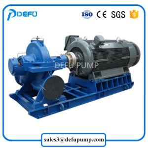 水平の分割ケースの電動機を搭載する遠心灌漑用水ポンプ