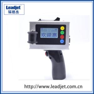 Gebildet worden in China-Handtintenstrahl-Dattel-Drucker